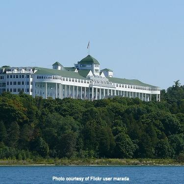 The Grand Hotel, Mackinac Island, MI - REVIEWS AND PHOTOS - Best of the Road by Rand McNally and USA TODAY: Islands Michigan, The Roads, Buckets Lists, Grand Hotels, Favorite Places, Historical Hotels, Maciknaw Islands, Mackinac Islands, Roads Trips