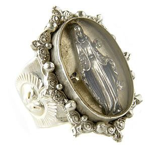 Virgins, Saints & Angels- best. jewelry. EVER.