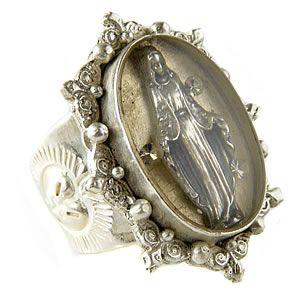 Virgins, Saints & Angels- best. jewelry. EVER.