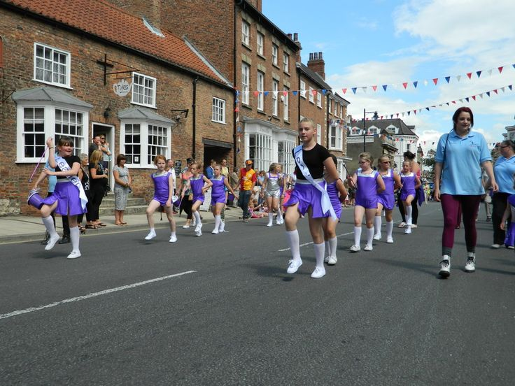 Bluebell Majorettes at Tadcaster Carnival
