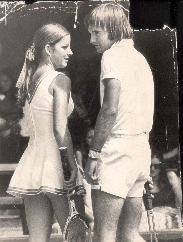 Abortion, affairs and how tennis great Chris Evert the man eater and Jimmy…