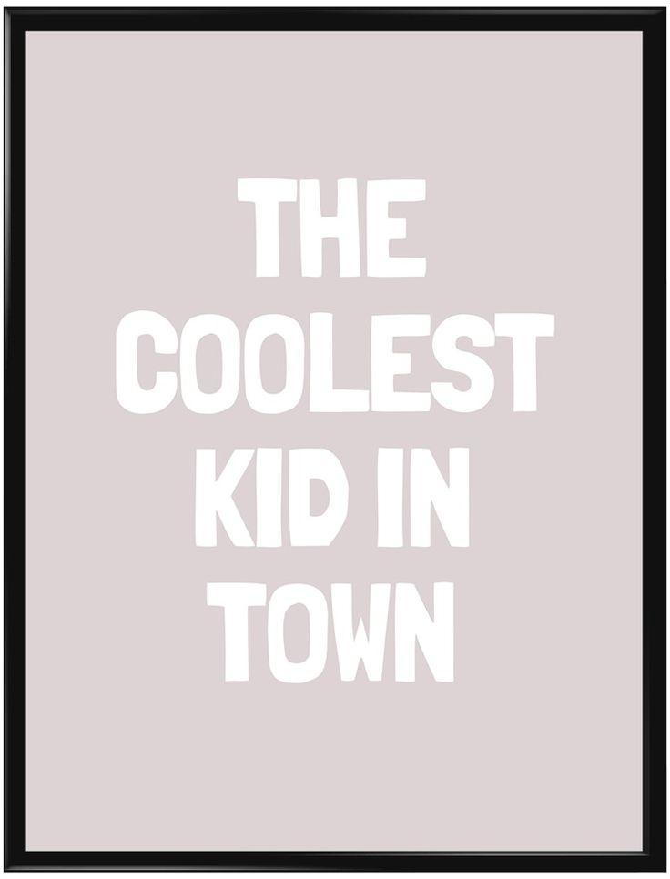 Handla din egen Coolest Kid (Rosa) poster från Galerie här. Vi levererar alltid…