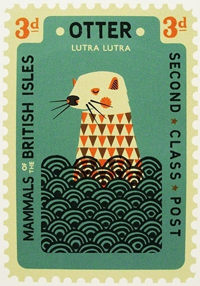 Well-designed stamps for the invites are a must, even if you have to source them off eBay.