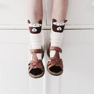 Our Cute Alpaca Kids Cotton Socks are almost as cute as your kids.