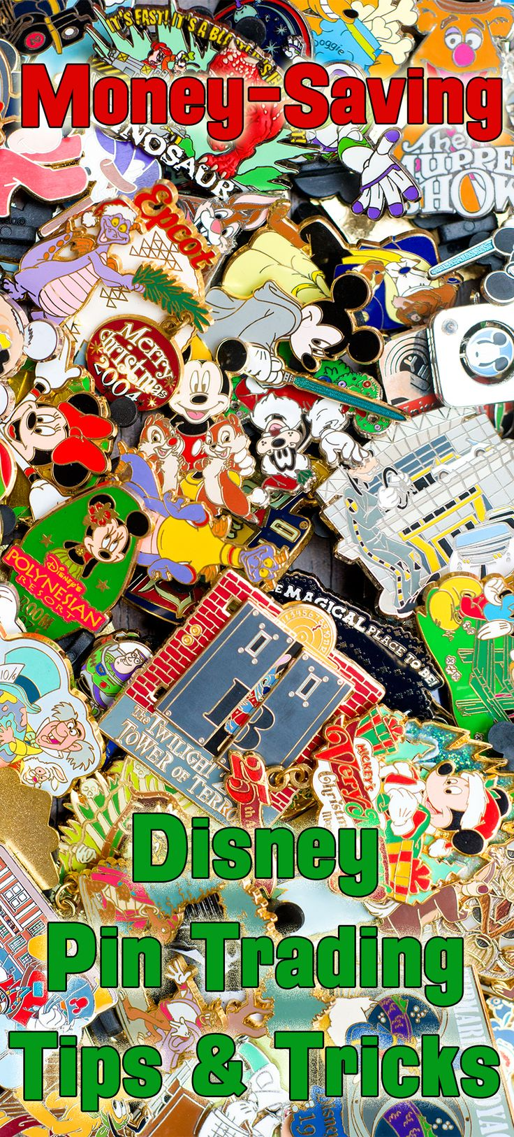 Love Disney Pin Trading? Then this is a MUST-READ post offering money-saving tips & tricks!