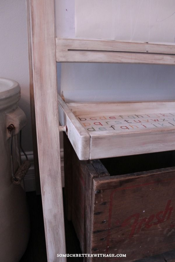 distressed paint technique furniture finishes