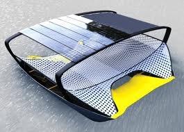 Foldable Solar-Powered Float Catamaran