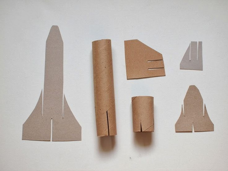 "Flying Cardboard Roll space shuttle craft that ""flies""!!"