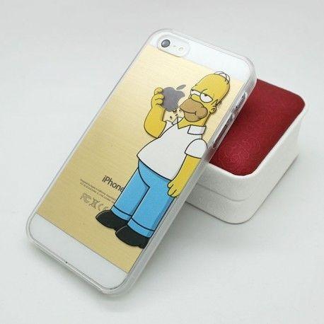 Coque iphone 6 plus : Homer Simpson