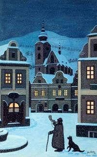 Josef Lada - Ponocný