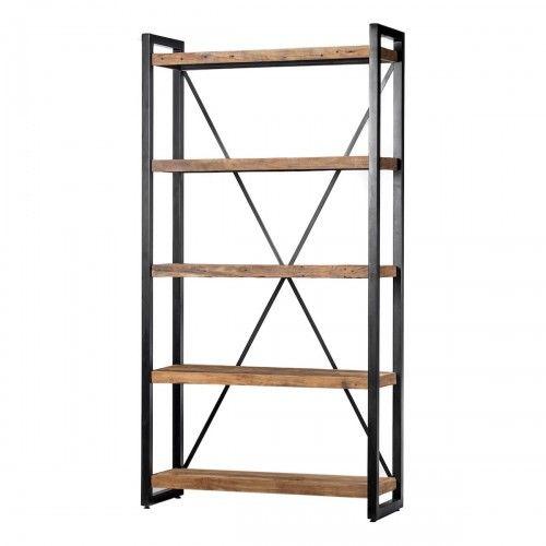 Alor | furniture rak perabot kayu jati besi unik industrial modern interior design