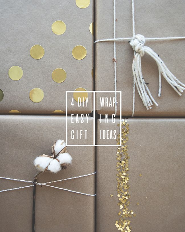 Have you gotten your holiday shopping done yet? Don't worry, me neither. Every time I think I'm done, there's someone else I need to add to my list. Well, once we both get it together, I'm here to help you with some simple DIY gift wrapping ideas. I love keeping it minimalist and elegant, so …