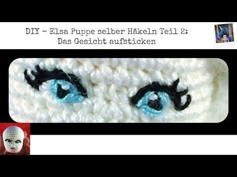 Freie Häkelanleitung: Elsa Puppe häkeln | Flauscheinhorn