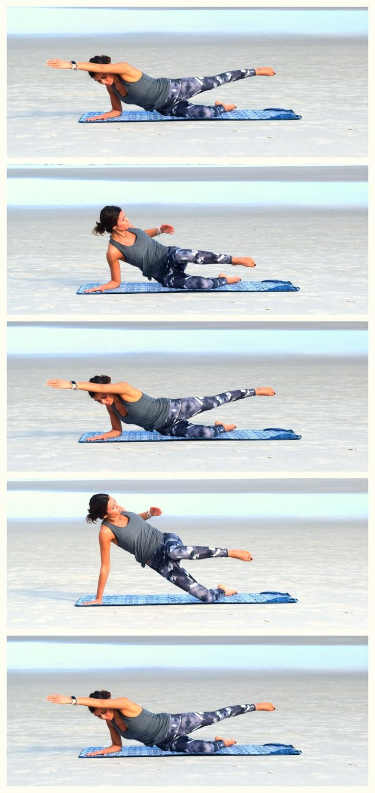 Side Swimmer Series: Yoga & Pilates inspired Core Strengthening Workout Series: Yoga- | Give this circuit workout a try to increase the strength of your core muscles.  Core strength in the foundation for all movement and will benefit your life in so many ways | Yoga, Pilates, Fitness, Health & Wellness Inspiration