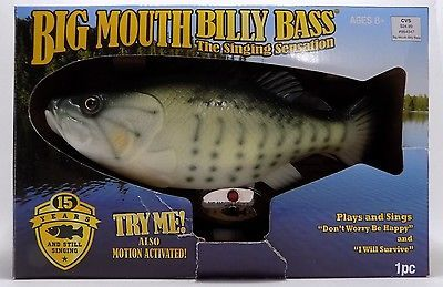 Big mouth billy bass singing fish don 39 t worry be happy i for Dont worry be happy fish