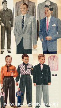 1955 Boys Clothes