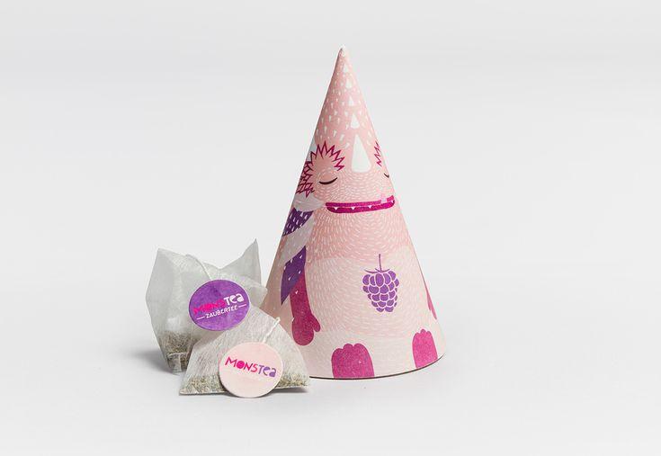Monstea – Tea Packaging for Kids on Behance
