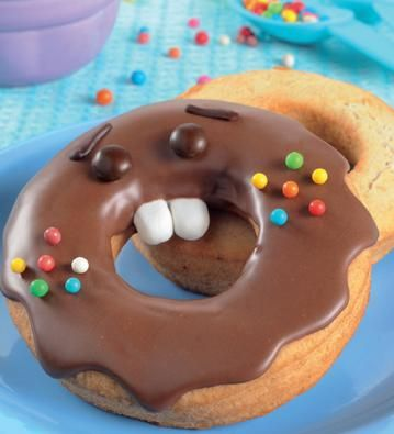 Sr. Dona #receta #chicos #donas #chocolate
