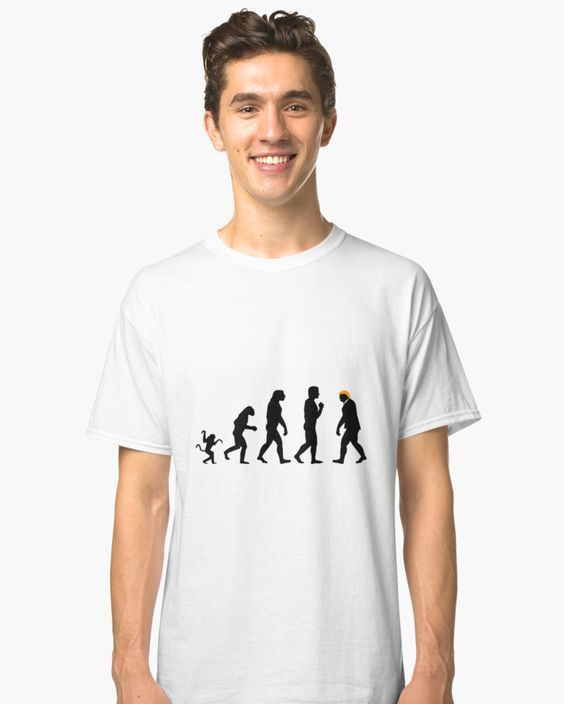 Evolution of mankind  You can order it here: http://ift.tt/2nVimU0  Your welcome   #fucktrump #trumpmemes #trump #trump #evolution