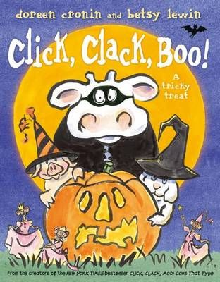 Buy Click, Clack, Boo! book by Doreen Cronin from Boomerang Books