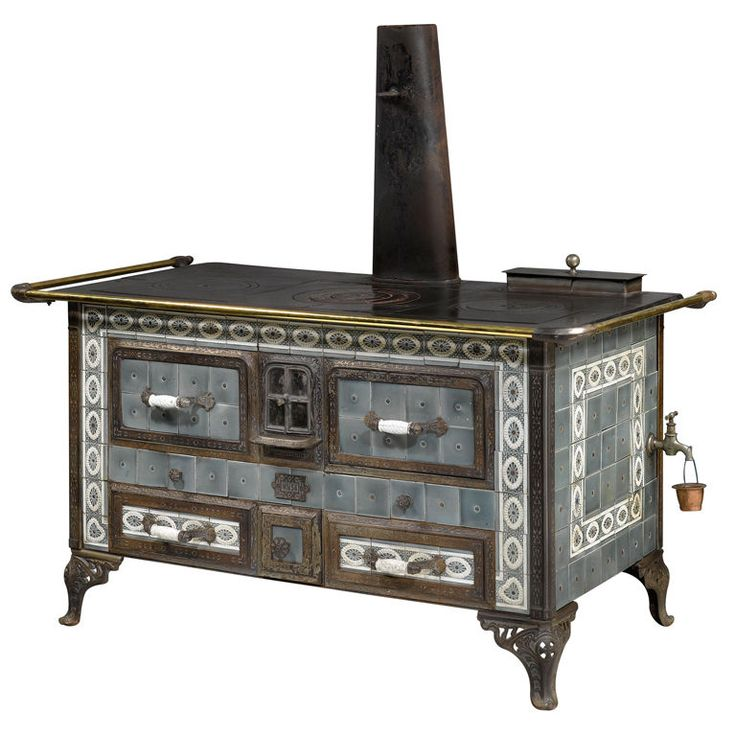 French Kitchen Stove: Wood Burning Stoves, Antique Kitchen Stoves And