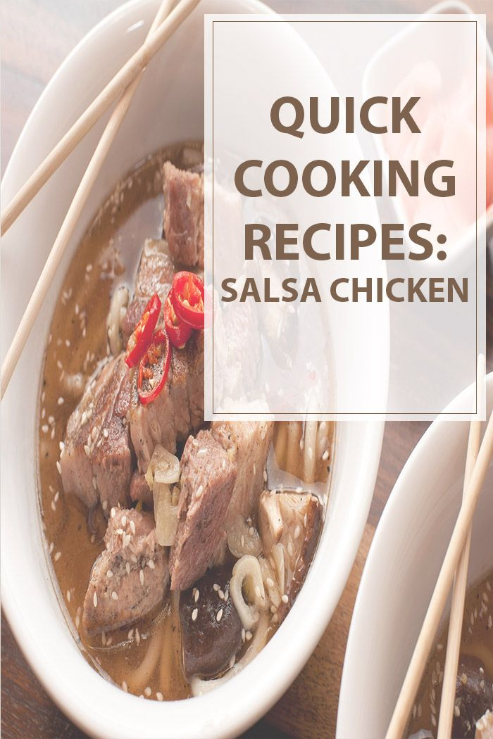 Salsa chicken is one of the quickest recipes out there. Here are some extra…