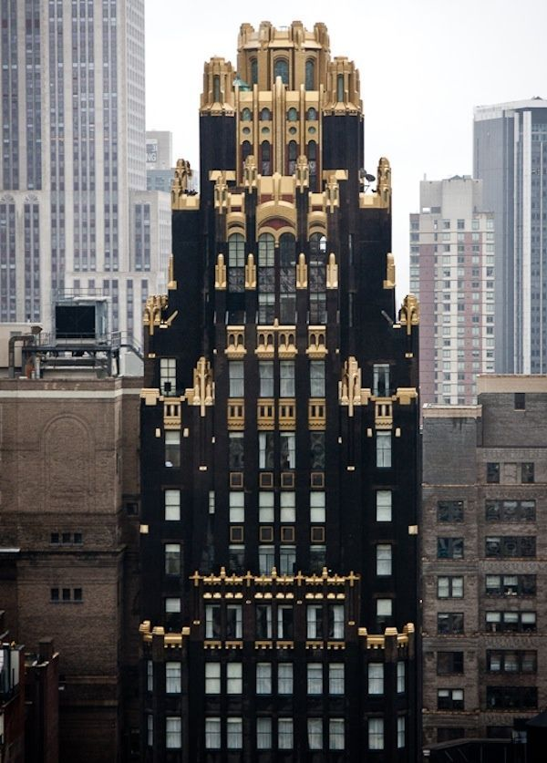 The American Radiator Building in NYC