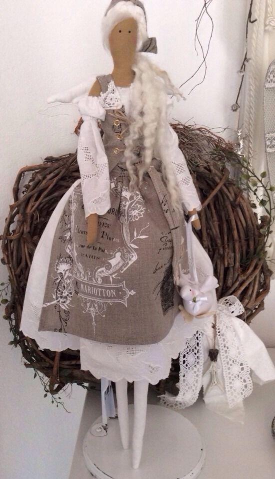 Tilda Engel Mädchen Hüttenzauber romantik Landhausstil Shabby Chic   eBay