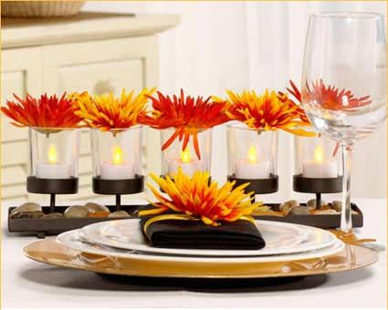 33 best Modern Table Settings images on Pinterest Desk layout - contemporary table centerpieces