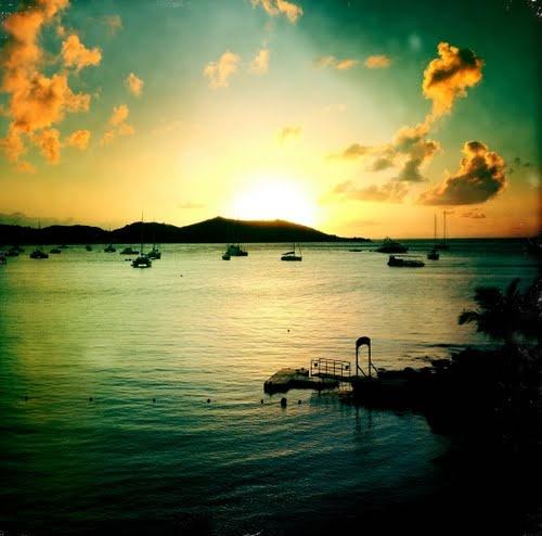 Grand Case Bay, Saint Martin, French West Indies