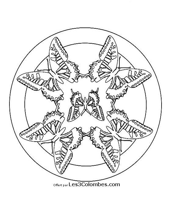 271 best ideas about mandala on pinterest coloring free printable coloring pages and mandala - Mandala facile ...