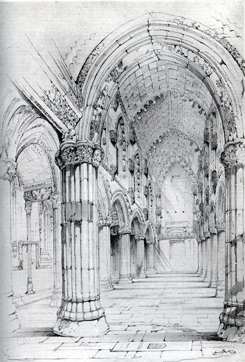 Roslin Chapel by John Ruskin