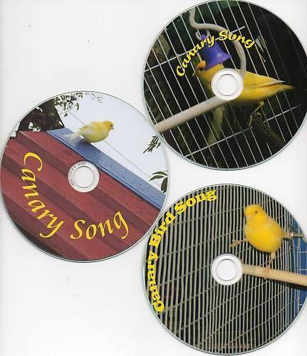 Canary Bird Songs on CD choice of 3