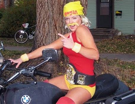 Female Hulk Hogan!
