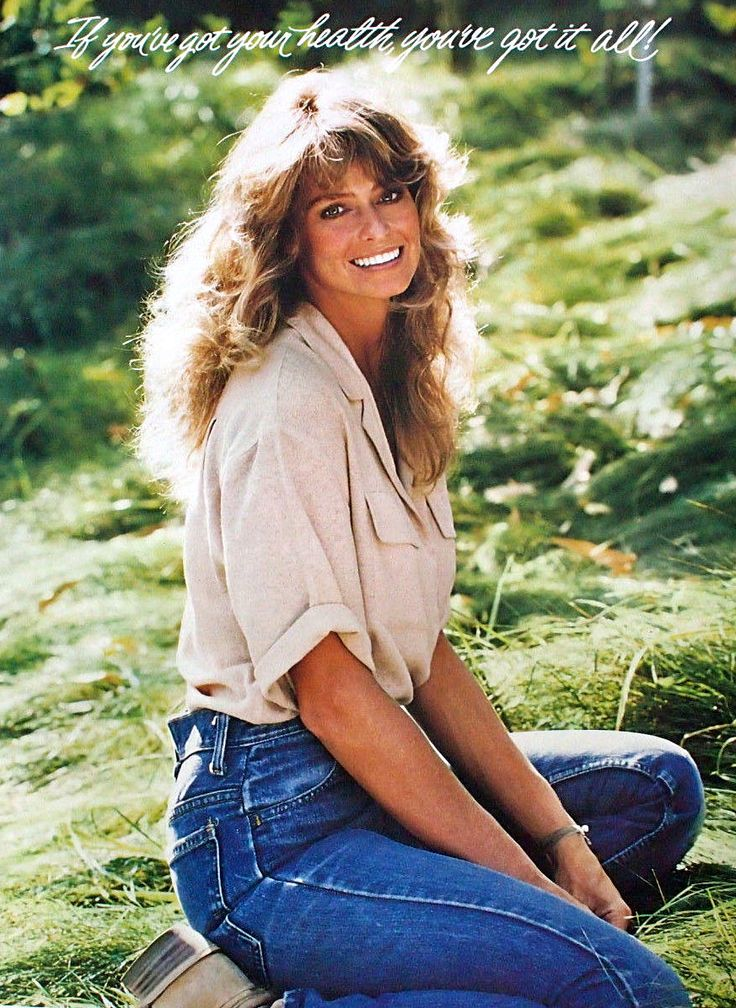 Farrah Fawcett Long Nipples