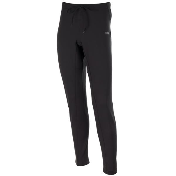 Gill Thermogrid Leggings a smooth face fleece with a brushed waffle interior providing excellent stretch, warmth wicking and breathability. Ideal as a mid layer or a warm base-layer. Available in Black in S-XXL. #gill #sailing #sailingclothing #thermalleggings #thermals #baselayer
