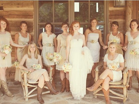 Mother of brides dresses with boots mother of the bride for Mother of bride dresses for country wedding
