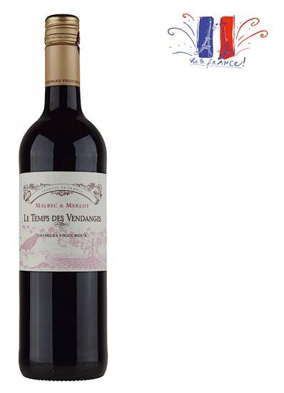 A nova linha Le Temps des Vendanges é um dos maiores achados entre os vinhos franceses. Fáceis de gostar, repletos de fruta madura e um ótimo frescor com um preço inacreditável pela qualidade dos vinhos. O tinho é um Malbec bem particular: bem leve e bastante aromático, perfeito para os dias mais quentes.Le Temps de Vendanges IGP Comté Tolosan Rouge- Castas: Malbec 60% e Merlot 40%- Teor Alcoólico: 13%- Amadurecimento:O vinho não passa por barrica de carvalho para manter o frescor da…