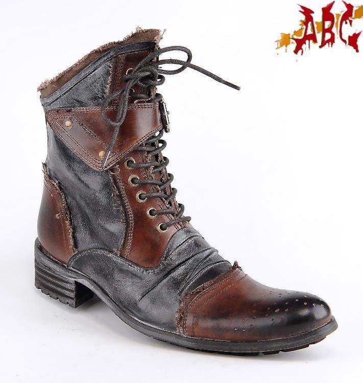 men's gothic punk boots