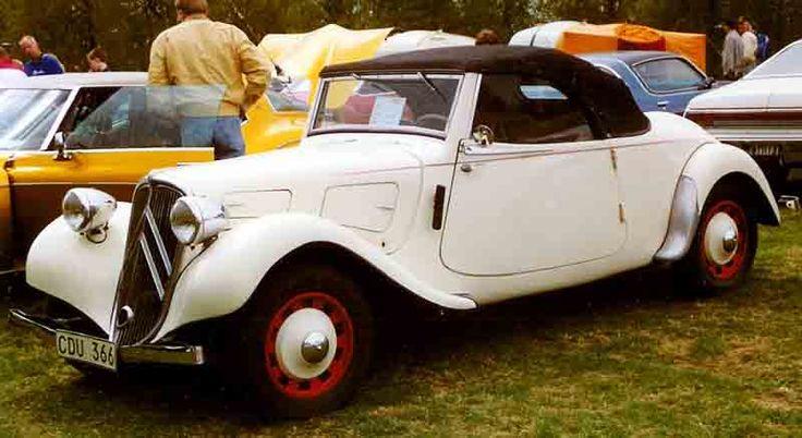 Citroen B11 Cabriolet 1939 - シトロエン・トラクシオン・アバン - Wikipedia