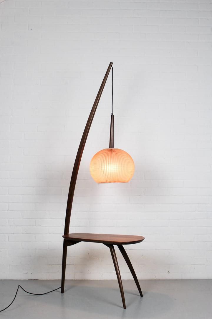 Mid Century Modern Floor Lamp And