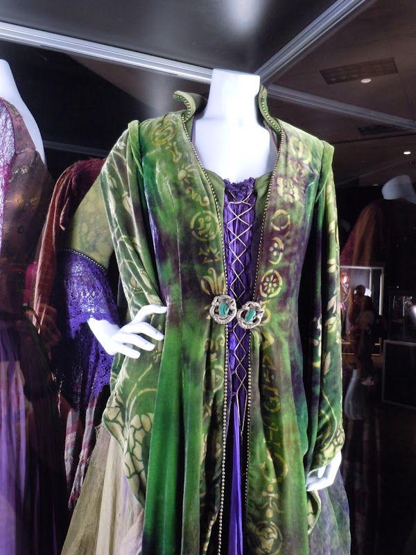 Original costume worn by Bette Midler as   Winifred Sanderson in Hocus Pocus
