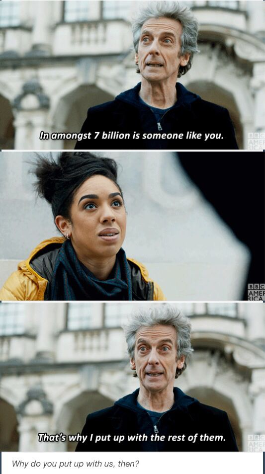 Doctor Who The Lie of the Land Peter Capaldi Twelfth Doctor Bill Potts Pearl Mackie