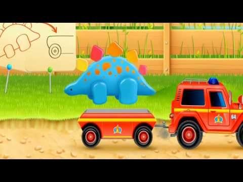 caminhao de bombeiro jogo de carro jogo de caminhão fogo e agua brinqued...