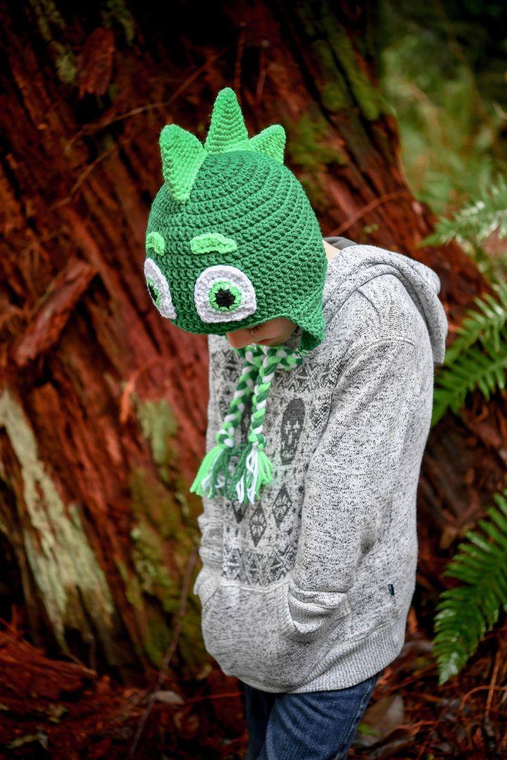 Inspired By PJ Masks, Gekko, Superhero Hat, by HatsByTracy on Etsy