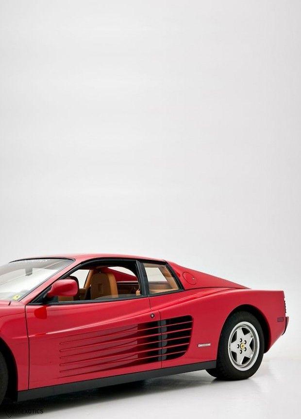 Ferrari F110 Testarossa (1984) 12-cylinder mid-engine sports car designed by Pininfarina