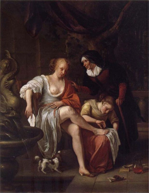 Something is. Bathsheba at her bath rembrandt opinion