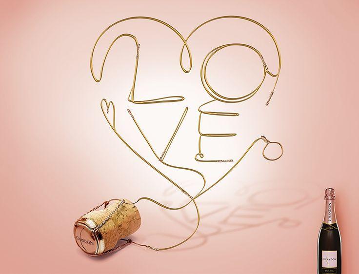 LVMH, Chandon – Día de San Valentín - CBA, designing brands with heart