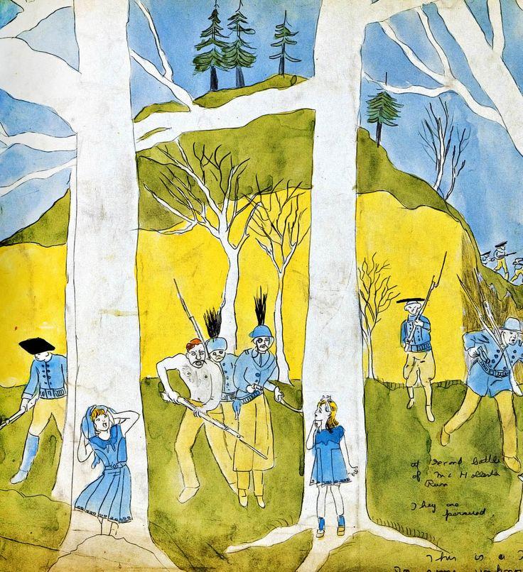"""HENRY DARGER. La Historia de las Vivians, o """"LOS REINOS DE LOS IRREAL"""", sobre la Guerra-Tormenta Glandeco-Angeliniana causada por la Rebelión de los Niños Esclavos."""