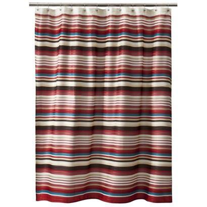 Threshold Herringbone Stripe Shower Curtain Red Rv Ideas Pinterest Herringbone The